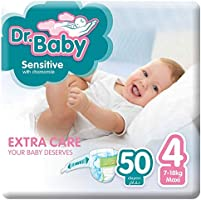 Dr.Baby Sensitive with Chamomile, Size 4, 7-18 kg, Value Pack, 50 Diapers