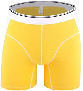 FSSE Mens Comfort Soft Elastic Cotton Sport Underpants Boxer Briefs