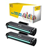 NYT Compatible High Yield Toner Cartridge Replacement for MLT-D104S for Samsung ML-1661,ML-1665,ML-1666,ML-1667,ML-1675,ML-1865W (Black,2-Pack)