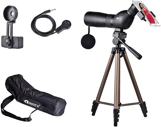 Télescope HJCA-15-45  60mm Trépied Zoom Lentille optique en verre avec revêtement pleine largeur BAK4 Prism HD Téléphonie mobile Prise de vue Optiques spéciales Beautiful atmospheric telescope