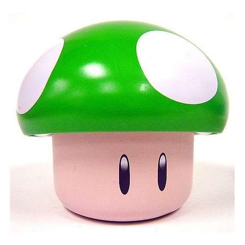 New Super Mario Brothers Green Mushroom Candy Tin, 1 oz(28.3g)[Apple Sours]
