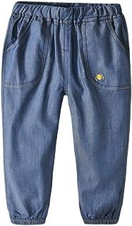 HOSD otoño Nueva Ropa para niños Pantalones para niños sección Delgada de algodón niño Pantalones Anti-Mosquitos Pantalone...