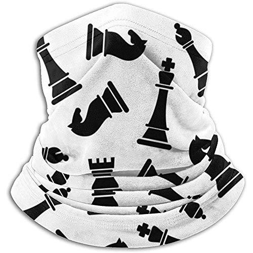 Chess Pieces Hoofdband Face Mask Bandana Head Wrap Scarf Neck Warmer Headwear Balaclava for Sports