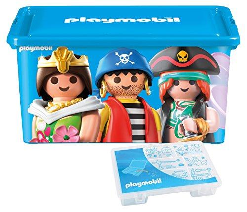 PLAYMOBIL 064672 Große Aufbewahrungsbox 23l + Box für Kleinteile