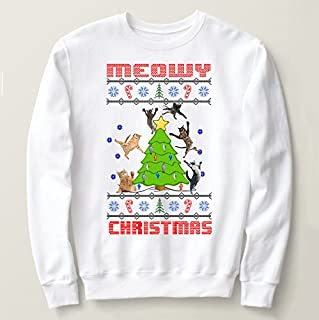Ugly Christmas sweater,Cats ugly Christmas sweaters, ugly Christmas party sweatshirt, Christmas gifts