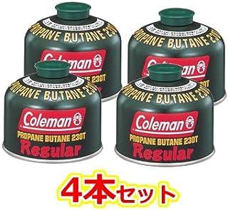 Coleman(コールマン) 純正LPガス燃料[Tタイプ]230g 5103A230T 4本セット [HTRC 2.1]