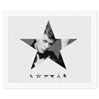 David Bowie Blackstar デヴィッド・ボウイ ブラックスター DIY デジタル絵画オイルハンギング絵画手作りホームウォールアート現代アートワークホームオフィス