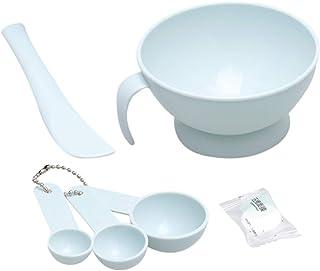 Lurrose Gezichtsmasker Mengkom Set Gezichtsverzorging Masker DIY Facemask Mixing Tool Sets Bowl Stick Spatel Meters Gecomp...