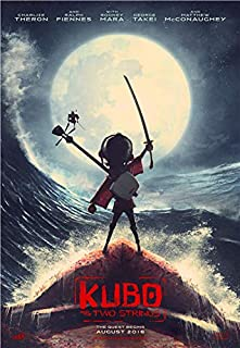 Kubo and The Two Strings Cartoon Movie Poster Prints Wall Art Decor Unframed,32x22 16x12 Inches,Multiple Patterns Available
