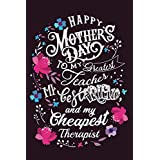 Happy Mother's Day | Mother's Guided Journal.: Lovely Mother's Day Notebook to write in | 6 X 9 inches | Notebook 120- page lined | Great Mother's Day notebook gift for record keeping.