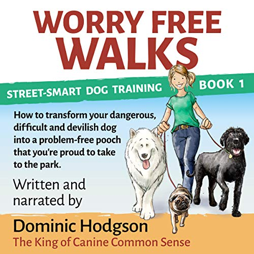 Worry Free Walks audiobook cover art