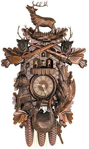 Kammerer Uhren Super sale Hekas Cuckoo Sales for sale Hunting Animals Hanging Clock