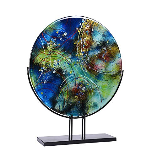 TABLE PASSION - Décoration sur Socle Disque Plat Benji 48 cm