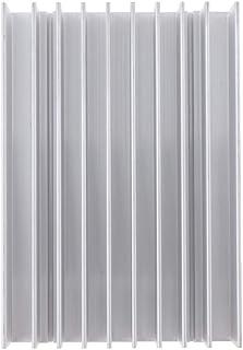 Homyl Aluminum Computer CPU Sink Cooling Fan Fin Accessory Kit 11x7.5x2 cm