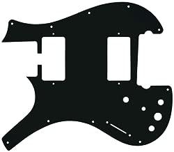 WD Custom Pickguard For Left Hand Parker Dual Humbucker Nitefly M