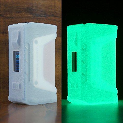 ModShield for GeekVape Aegis Legend 200W Silicone Case ByJojo Cover Shield Sleeve Wrap Skin (Glow-in-The-Dark)