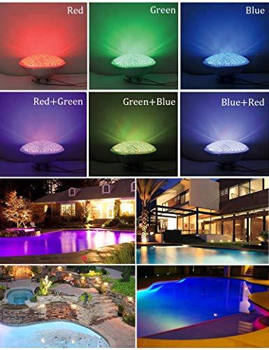 Nuaueaw Iluminación de estanques y piscinas