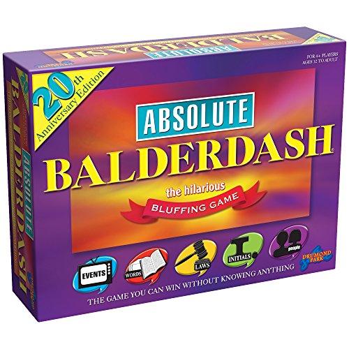 Absolute Balderdash - Jeu de Société - 20th Edition (Import Grande Bretagne)