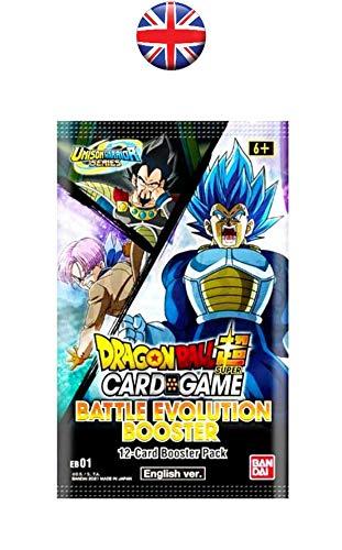 Dragon Ball Super Battle Evolution Booster Box EB01-24 Packs