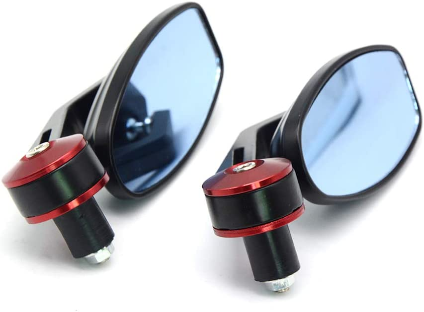 KIILING 22mm Bar End Rear New product! New type Gorgeous Motorcycle Mirrors Com Mirror Rearview