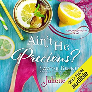 Ain't He Precious?                   De :                                                                                                                                 Sawyer Bennett (writing as Juliette Poe)                               Lu par :                                                                                                                                 Samantha Summers,                                                                                        Alexander Cendese,                                                                                        Lance Greenfield                      Durée : 4 h et 32 min     Pas de notations     Global 0,0