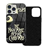 The Night-mare Before Christmas, Symmetry iPhone 12 Case with Soft TPU,Shockproof Pockets Friendly Protective Case,Clear Silicone Bumper for Apple iPhone 12