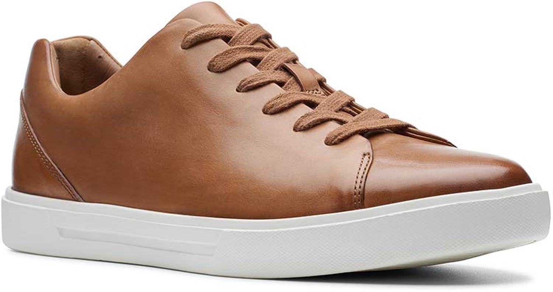 CLARKS Men's Un Costa Lace Tan Leather 9.5 M