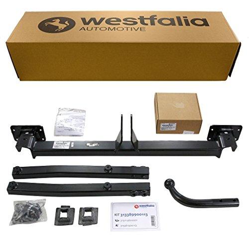 Westfalia starre Anhängerkupplung für Mercedes C-Klasse Kombi S204 / Limousine W204 / Coupe C204 (BJ ab 07/09), E-Klasse Coupé C207 (ab BJ 05/09) im Set mit 13-pol. fzg.-spez. Westfalia E-Satz