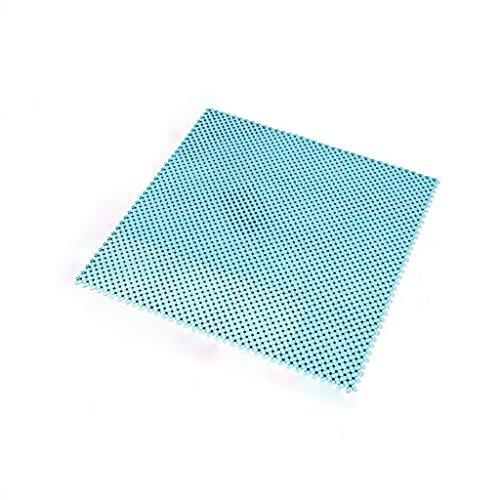 Rijden Blauw Holle Grid Kunststof Deurmat 1 Vierkante Meter Anti-water Matten Hydrofobe Badkamer Anti-slip Waterdichte Matten