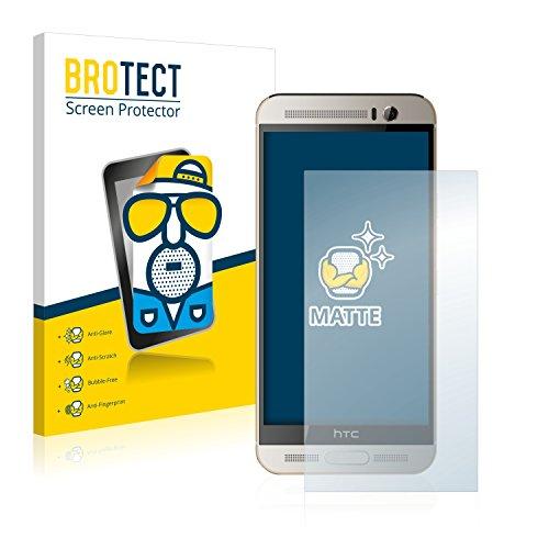 brotect Pellicola Protettiva Opaca Compatibile con HTC One M9+ Pellicola Protettiva Anti-Riflesso (2 Pezzi)