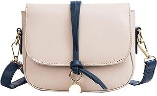 Wshizhdfuwstb Tote Bag for Women, Fashion Flap Ladies Shoulder Bag Ladies Unfeigned Leather PU Crossbody Travel Bag Ladies...