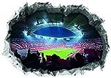 FC Bayern München Wandtattoo 3D für Tapete | Sport