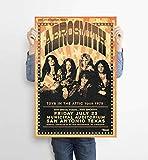 LKY Aerosmith Poster, Rockband Aerosmith 1975,