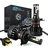 JDM ASTAR T1 H4 9003 All-in-One Upgrade Vision White LED Headlight Bulbs