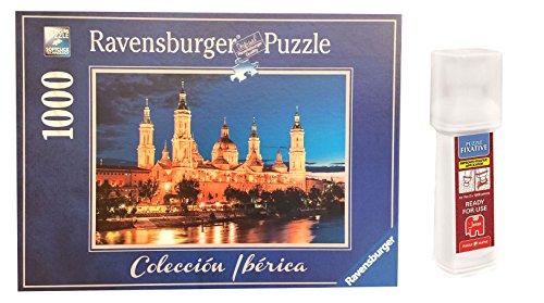 Pack Puzzle Ravensburger 88585. Basilica del Pilar. Zaragoza. 1000 piezas + Pegamento Puzzle