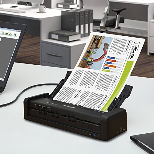 Epson Workforce ES-300W Wireless Color Portable Document Scanner with ADF for PC and Mac, Sheet-fed and Duplex Scanning Photo #4