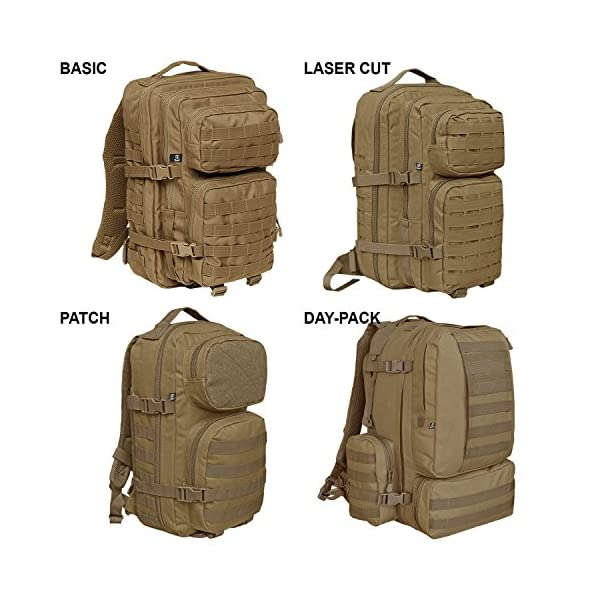 51laexA2bTL. SS600  - Brandit Rucksack Lasercut US Cooper Backbag - Zaino - sac à dos - Mochila