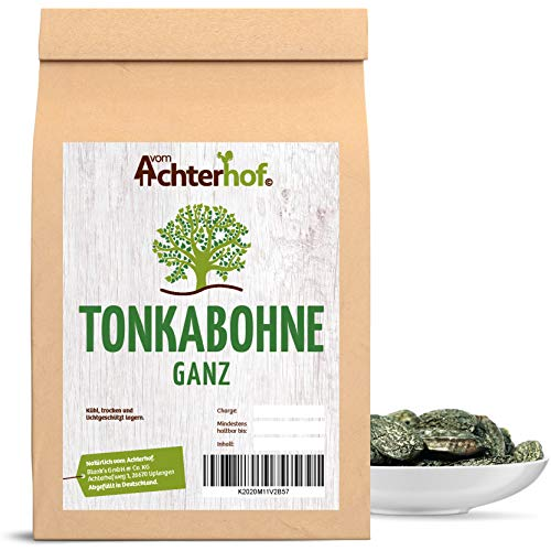 100 g Tonkabohnen ganz Tonkabohne Spitzenqualität aus Brasilien der preiswerte Vanille bzw. Vanillepulver Ersatz