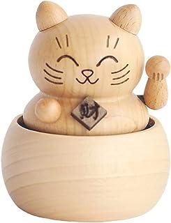 musical boxes صندوق موسيقى خشبي، مربع الموسيقى المحظوظ القط، مربع الموسيقية الصلب، صناديق الموسيقى المصنوعة يدويا music bo...