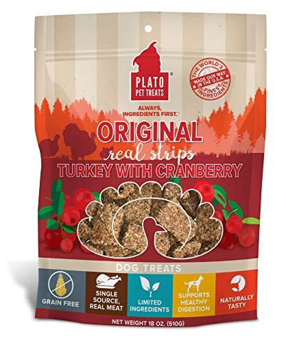 Plato Original Real Strips Turkey & Cranberry Recipe 18oz