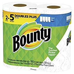 Bounty Double Plus Rolls, 2 Count