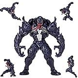 YYQIANG Marvel Venom Juguetes 6 pulgadas - Marvel Legends Series Juguetes Venom figura de acción - Altura 16cm Sobre -Joint móvil Marvel Infinity War figura del cumpleaños de los niños Colección de re