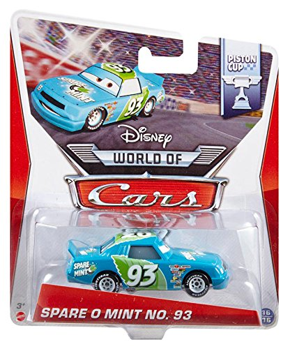 Disney Pixar Cars Spare O Mint # 93 (Piston Cup Series, # 16 of 16) - Voiture Miniature Echelle 1:55