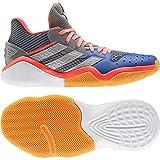 adidas Harden Stepback, Basket Mixte Adulte, Gritre/Plamet/Azurea, 38 EU