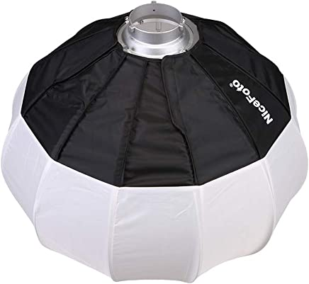 Simlug Light Reflector Collapsible Reflector Portable Round Collapsible Reflector Diffuser Kit
