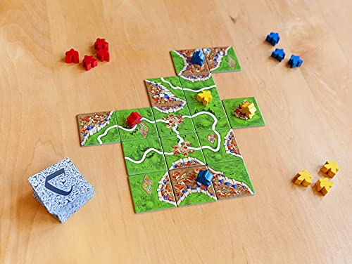 Carcassonne Board Game (BASE GAME) | Family Board Game | Board Game for Adults and Family | Strategy Board Game | Medieval Adventure Board Game | Ages 7 and up | 2-5 Players | Made by Z-Man Games