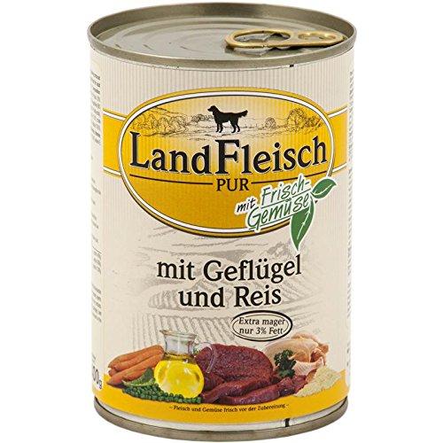Landfleisch Pur Geflügel&Reis...