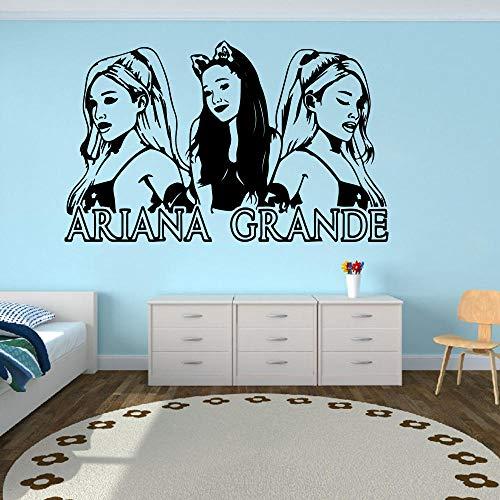 Pegatina De Pared,Gran Ariana Grande, Pegatina De Pared Musical Para Habitación De...