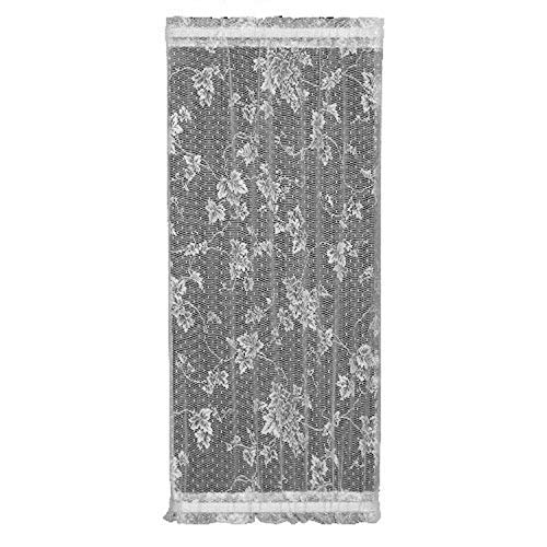 Heritage Lace English Ivy 48-Inch Wide by 63-Inch Drop Door Panel, Ecru