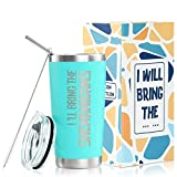 Onebttl Funny Best Friend BFF Travel Tumbler with Lid and Straw, 20 oz Stainless Steel Coffee Cup, Thermal Double Wall Vacuum Insulated Tumbler -with Sayings for Birthday, Christmas, Friendship